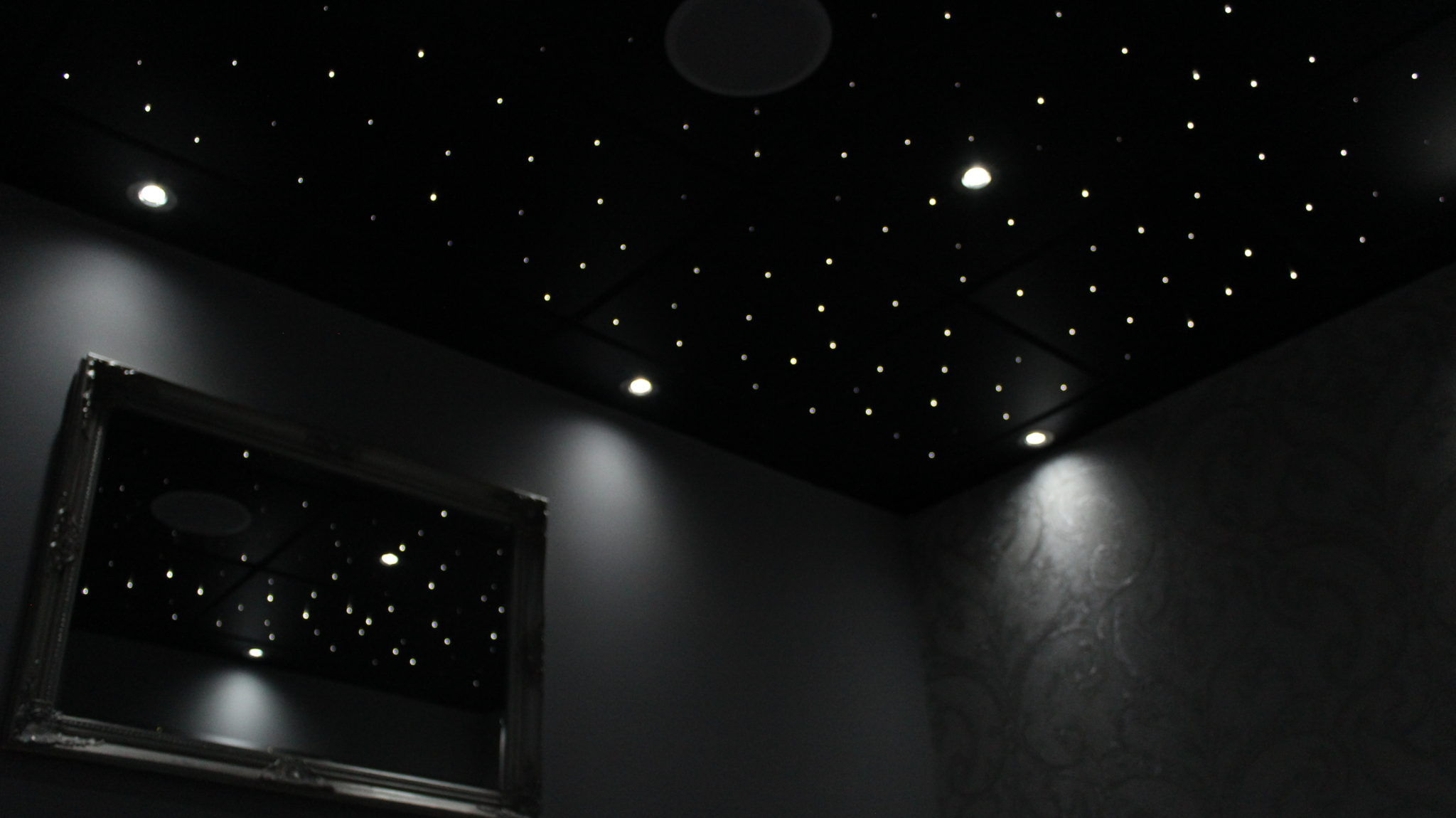 Suspended ceiling tiles led ceiling panels custom fibre optics dailygadgetfo Gallery