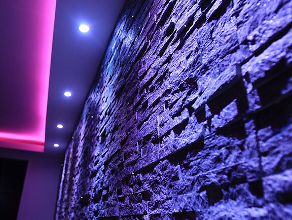 led lighting cove