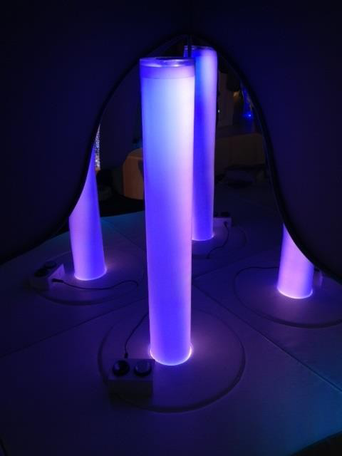 led bubble tube water