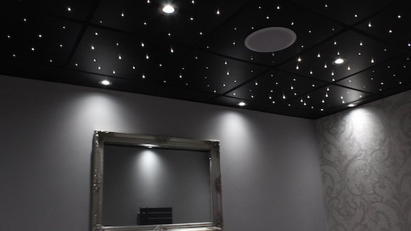 Suspended ceiling tiles led ceiling panels custom fibre optics have a look at our starry ceiling tile installation guide for reference mozeypictures Choice Image