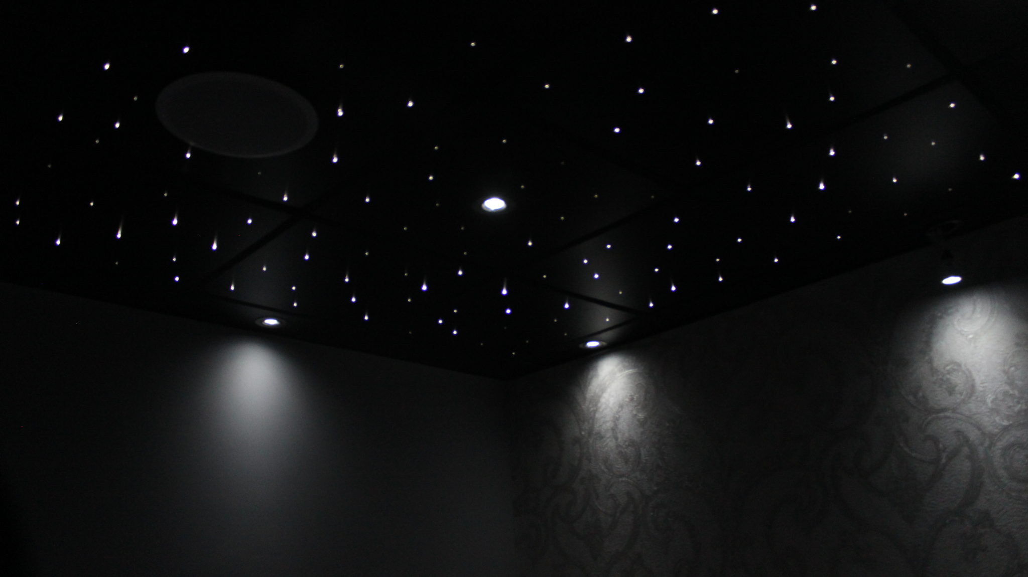Suspended ceiling tiles led ceiling panels custom fibre optics have a look at our starry ceiling tile installation guide for reference mozeypictures Images
