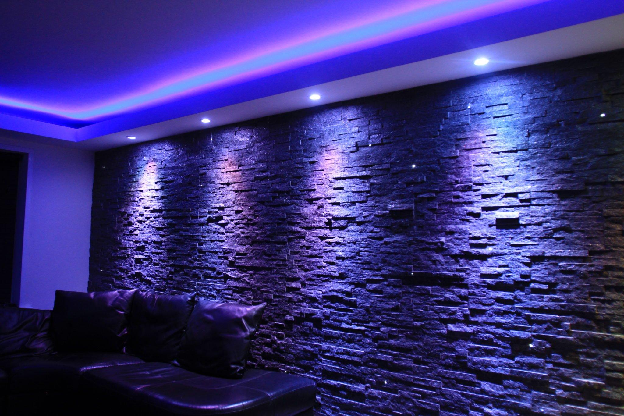fibre optic tiling