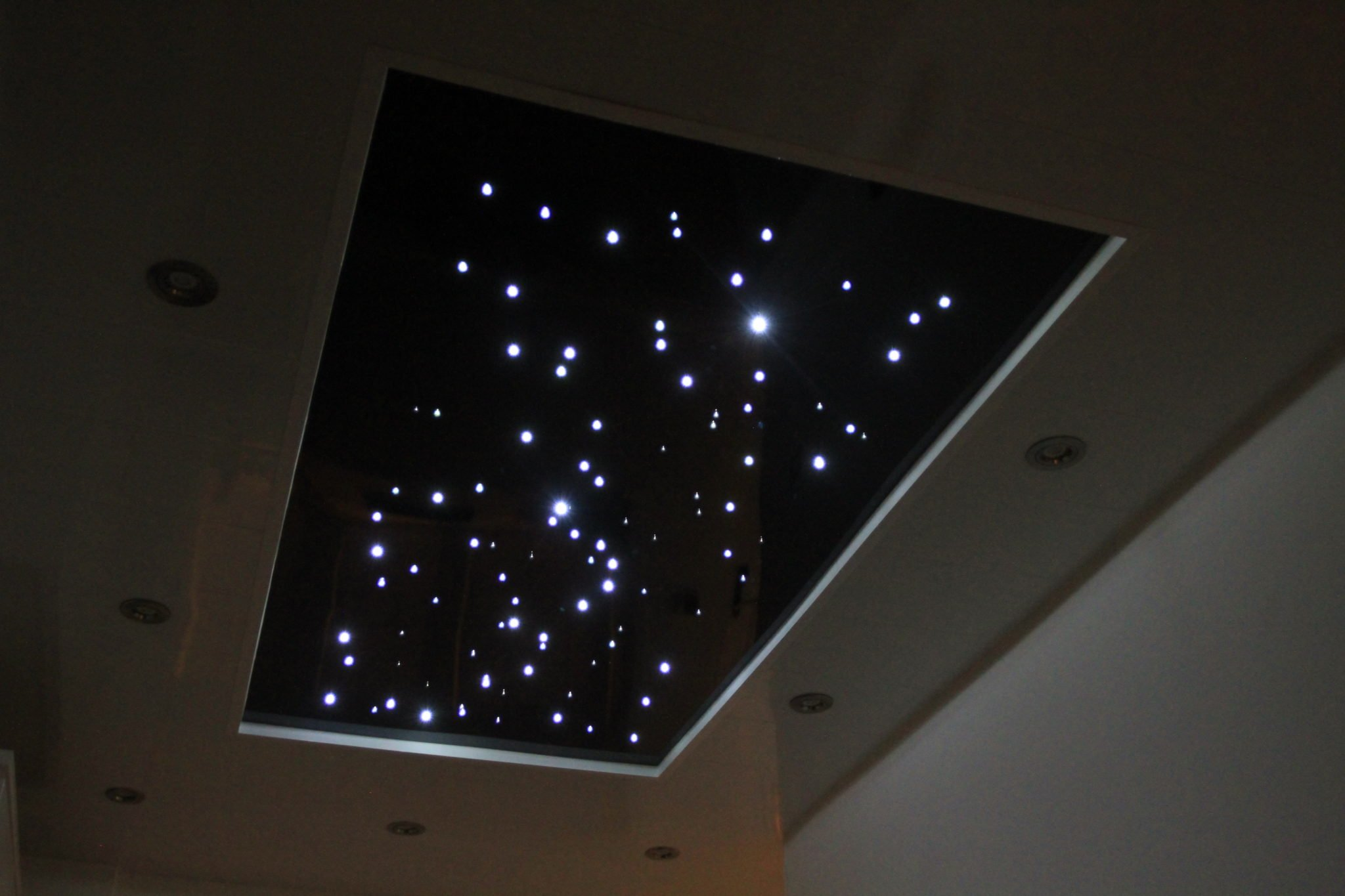 Starry ceiling panel