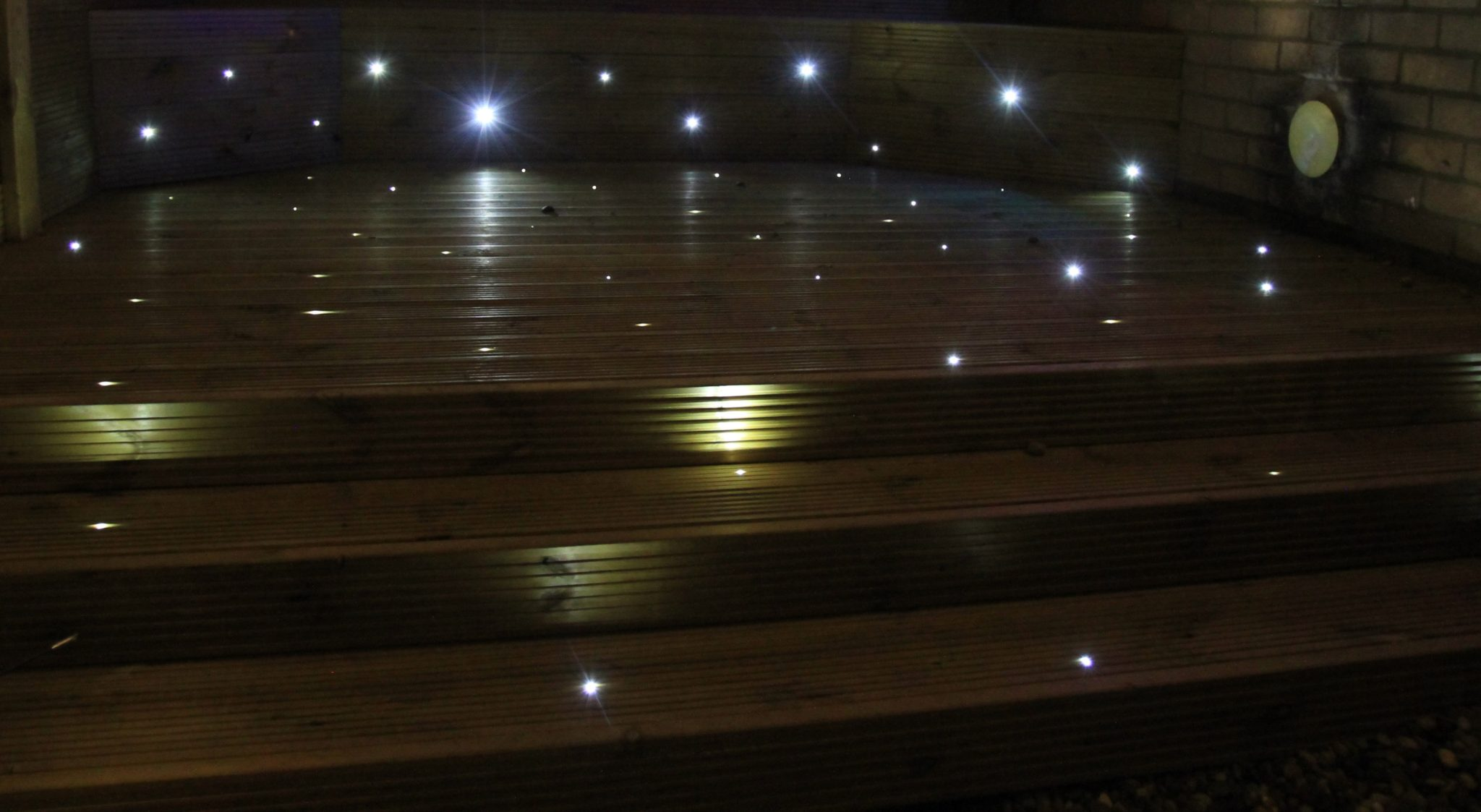 Garden decking lights